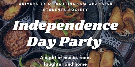 UON Ghanaian Society Independence Day tickets