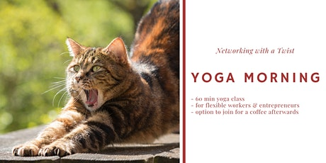 Yoga & Networking for Remote workers and Entrepreneurs tickets