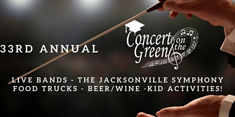 33RD ANNUAL Concert on the Green VIP PATRON Tickets tickets