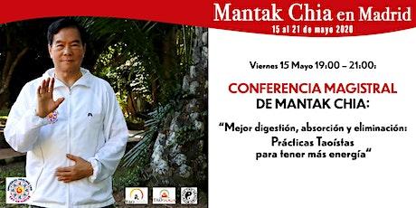 Conferencia Magistral de Mantak Chia: Prácticas Taoístas para la Energía entradas