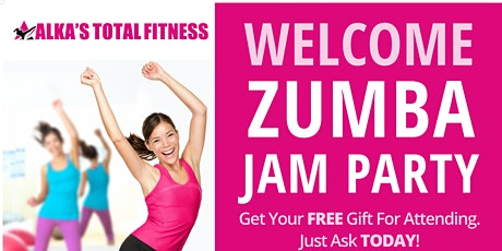 Zumba Spring Jam party tickets