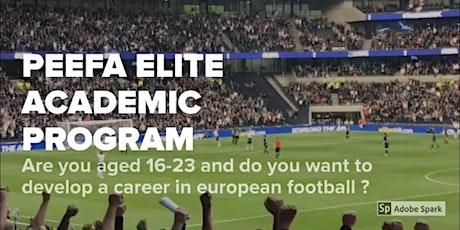 PEEFA ELITE ACADEMIC FOOTBALL TRIALS 2020 - ENGLAND/SCOTLAND/WALES tickets