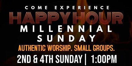 Happy Hour, Millennial Sunday  tickets