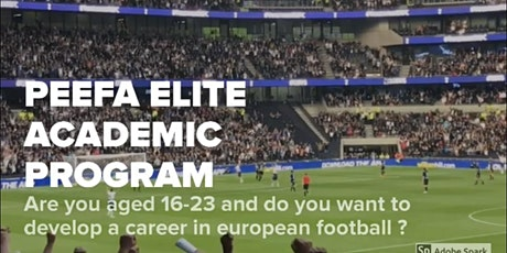 PEEFA ELITE ACADEMIC FOOTBALL TRIALS - SPAIN 2020 entradas