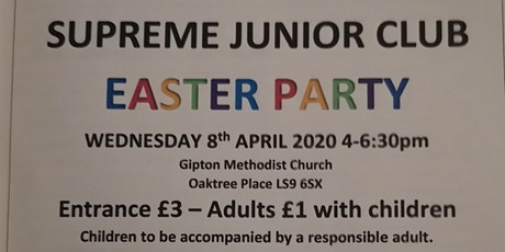 Supreme Junior Club Easter Party tickets
