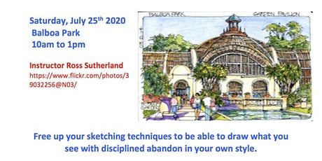 PRINCIPLES OF URBAN SKETCHING tickets