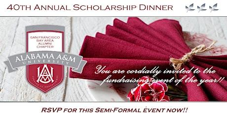 40th Annual Scholarship Dinner tickets