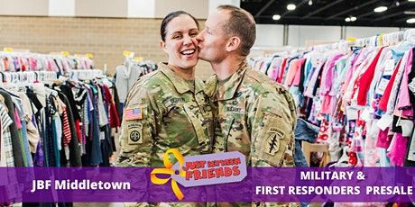 Military & First Responder Presale pass | Sept 12th | JBF Middletown Fall 2020 | Mega Children's Sale event  tickets