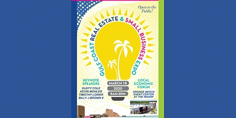 2020 Gulf Coast Real Estate & Small Business EXPO tickets