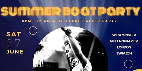 Boat Party with a Secret After Party tickets
