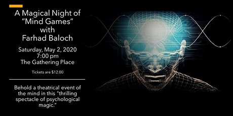 """A Magical Night of """"Mind Games"""" with Farhad Baloch tickets"""