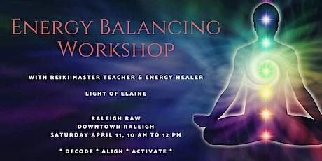 Energy Balancing Workshop tickets