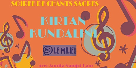 Reporté / Kirtan (Chants & Mantras de la tradition Kundalini) billets