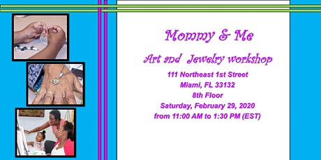 Block 1 Art Presents: Mommy & Me Art and Jewelry Workshop tickets