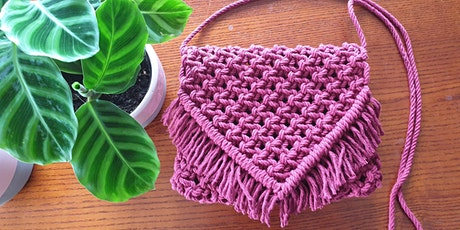 Macrame Shoulder Bag Workshop tickets