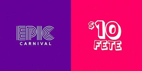 10FETE Welcome 2 Atlanta Carnival 2020 tickets