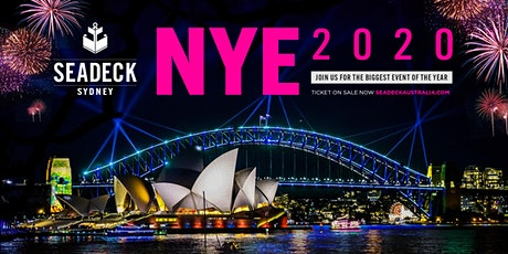 New Years Eve 2020 on Seadeck tickets