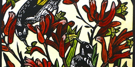 Lino Printing with Lucy Timbrell : An introductory class. tickets