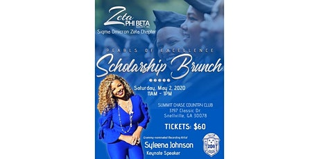 Pearls of Excellence Scholarship Brunch tickets