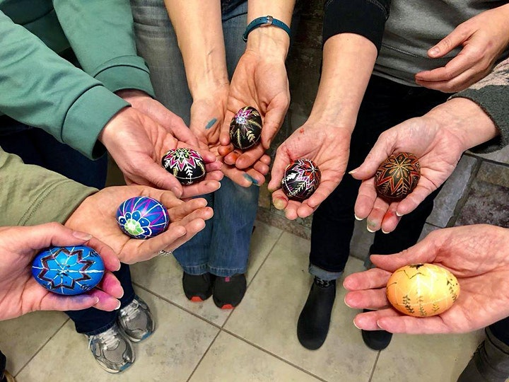 Ukrainian Pysanky Workshop will be happening ONLY on April 18th. image