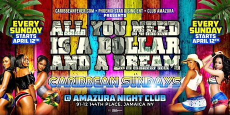 Caribbean Dollar Sundays at Amuzura tickets