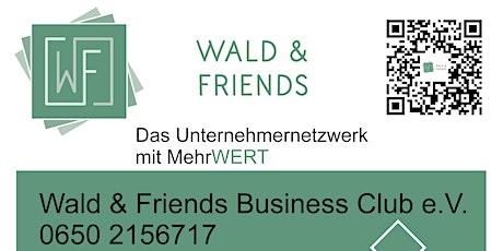 UnternehmerInnen Stammtisch Brucker Stadthalle Wald&Friends Tickets