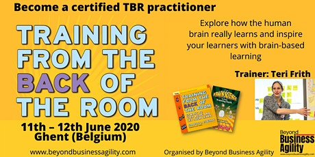 Training from the Back of the Room tickets