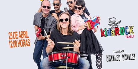 Kids Rock Family en Galileo Madrid tickets