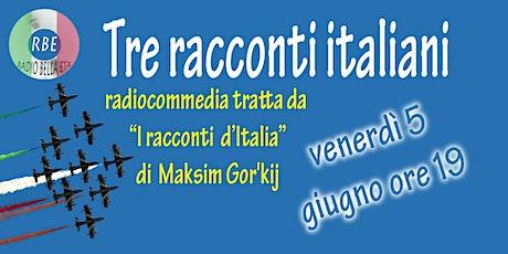 Tre racconti italiani biglietti