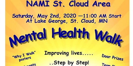 Mental Health Walk 2020 Presented by NAMI St. Cloud Area tickets