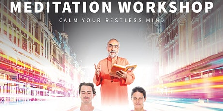 Meditation Workshop  @ Sydney Town Hall  (EVENT POSTPONED) tickets