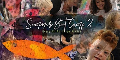 Summer ART Bootcamp 2: Intensive Art week for Kids! tickets