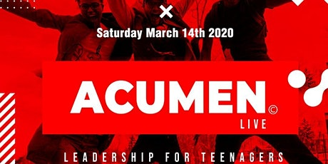 Acumen Live tickets