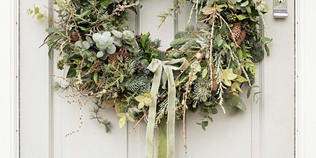 Evergreen Christmas wreath workshop tickets