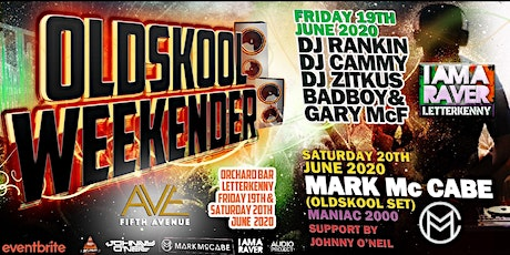KOTC PROMOTIONS PRESENTS OLDSKOOL WEEKENDER FRIDAY tickets