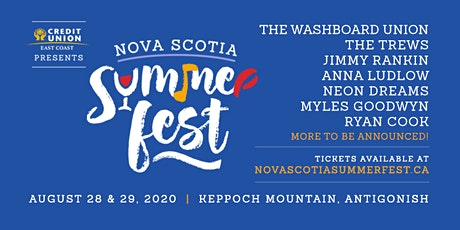 Nova Scotia Summer Fest 2020 tickets