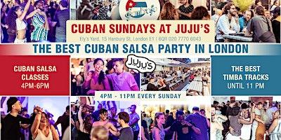 2020 Cuban Sundays at Jujus with Sambroso Sambros