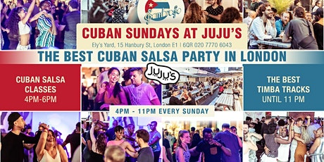 2020 Cuban Sundays at Juju's with Sambroso Sambroso tickets