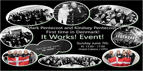 It Works Event Copenhagen with Mark and Kindsey Pentecost  tickets