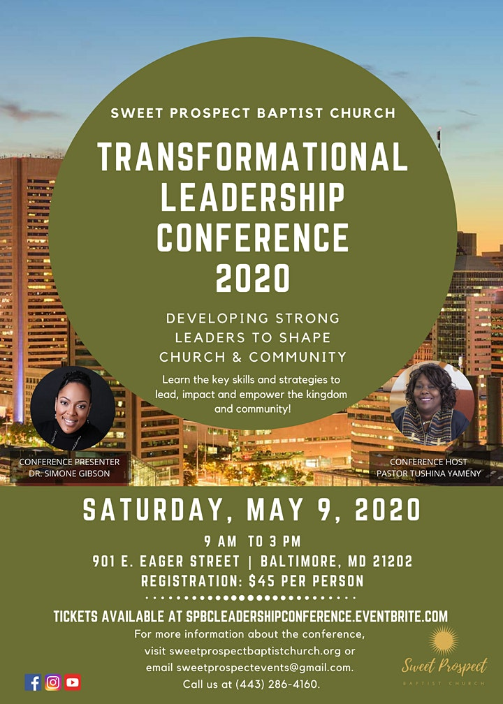 Transformational Leadership Conference 2020 image