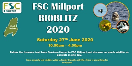 FSC Millport Bioblitz 2020 tickets