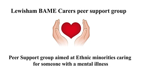 Lewisham BAME carers peer support group tickets