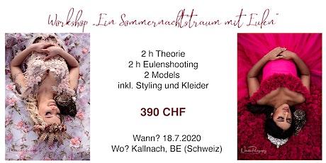 """Workshop """"Ein Sommernachtstraum mit Eulen"""" Tickets"""