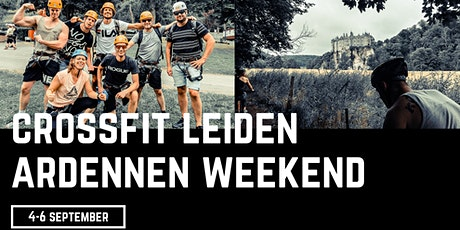 CrossFit Leiden Ardennen Weekend billets