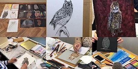 Art Workshop - Birds of Prey (Hack Back CIC fundraiser) tickets