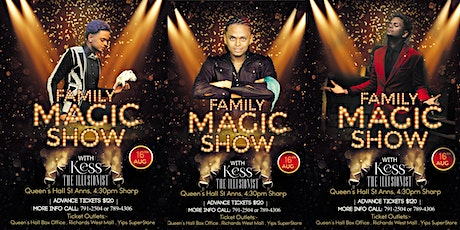 Family Magic Show With Kess The Illusionist tickets