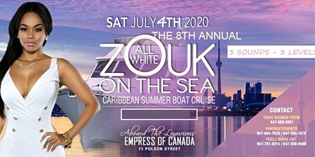 ALL WHITE ZOUK ON THE SEA tickets