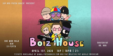 BOIZ House at 1Up [Tchami Afterparty] tickets