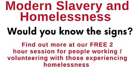 Homelessness & Modern Slavery tickets