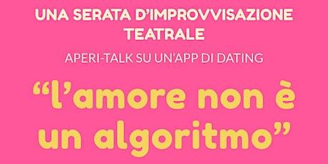L'amore non è un algoritmo biglietti
